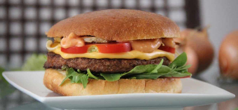 Vegetarische hamburgers van De vegetarische slager test