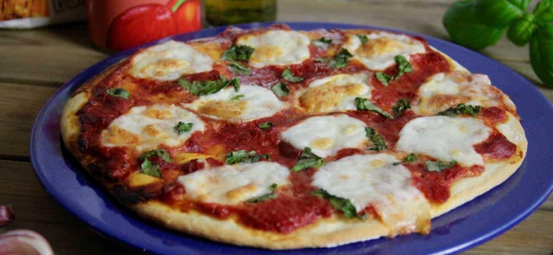 Pizza Margherita recept 1