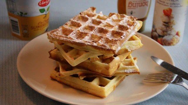 Wafels recept 5 wafels
