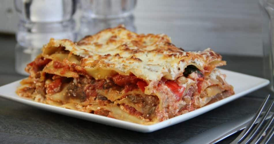 Lasagne met aubergine en ricotta 1
