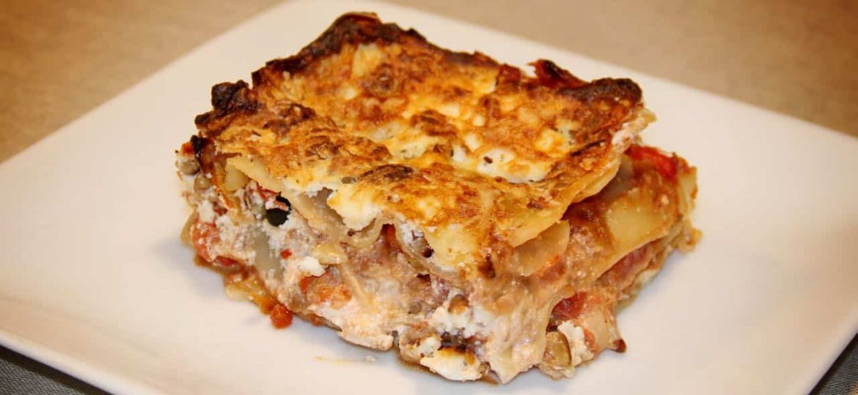 De perfecte vegetarische lasagne met aubergine recept