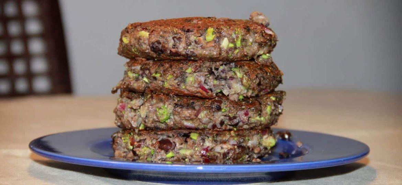 Portobello hamburgers, vleesvervanger uit eigen keuken