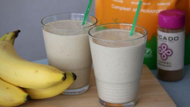 Eiwit smoothie banaan Orangefit