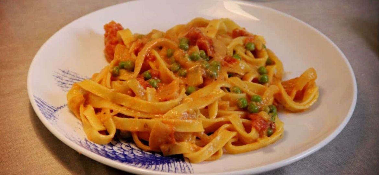 Tagliatelle Alfredo recept