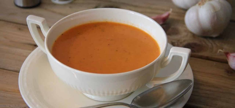 Tomaten crème soep recept 1