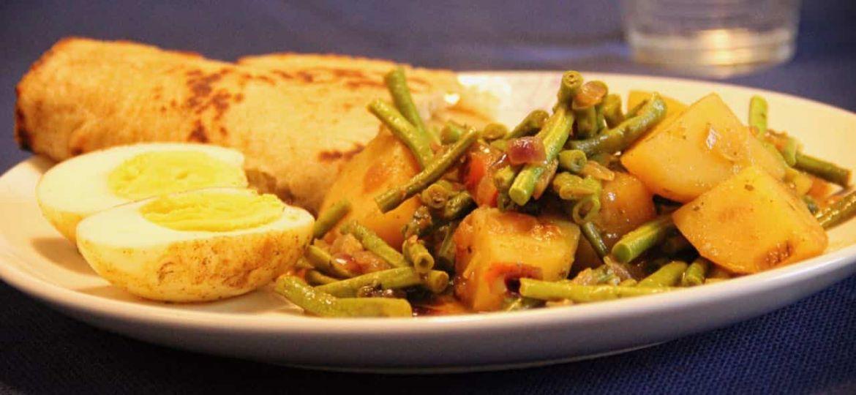 Vegetarische roti recept