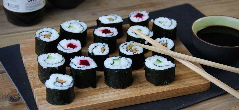 Vegetarische sushi maki recept jan 2020 1