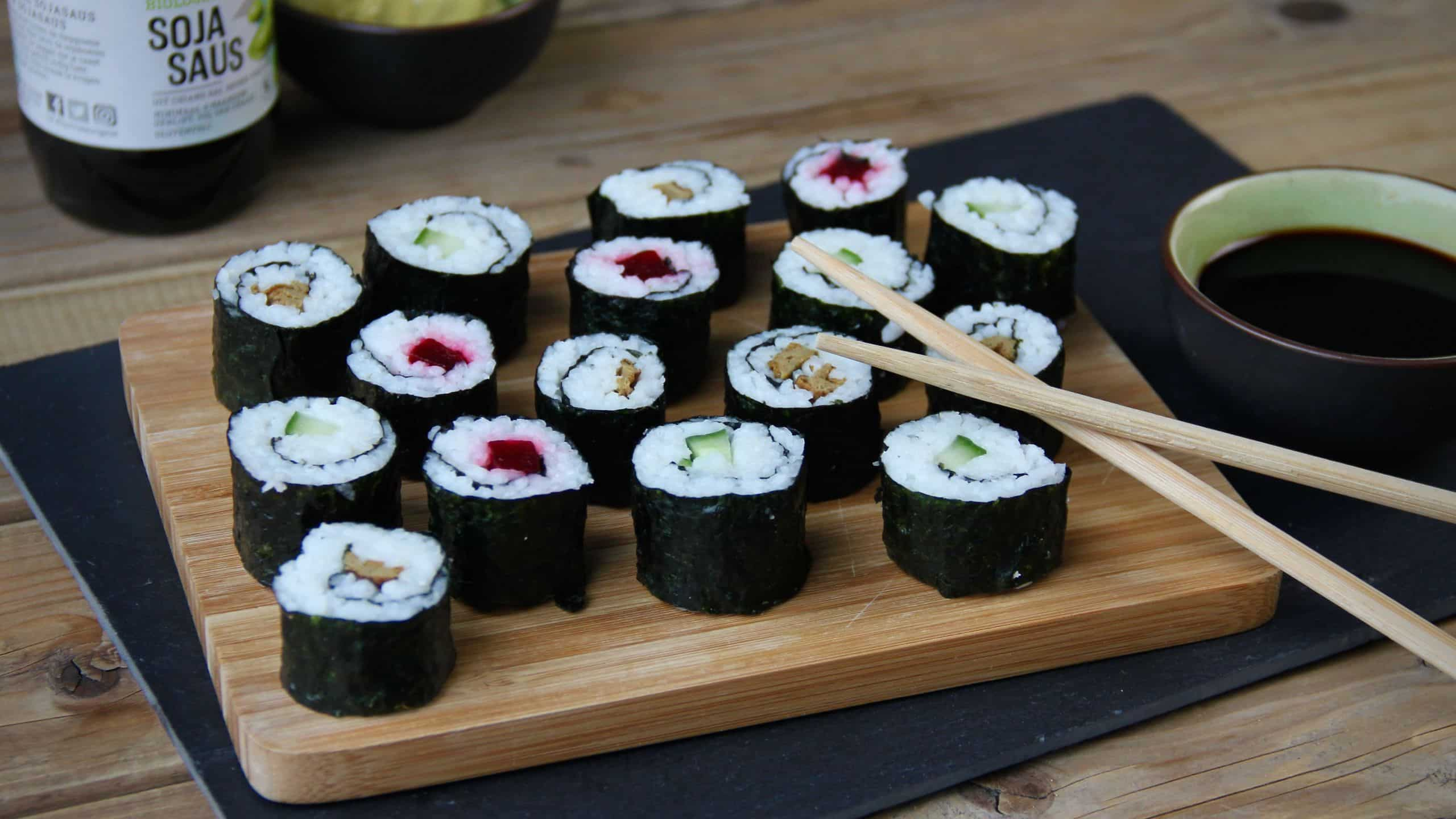 Vegetarische sushi maki recept jan 2020 1