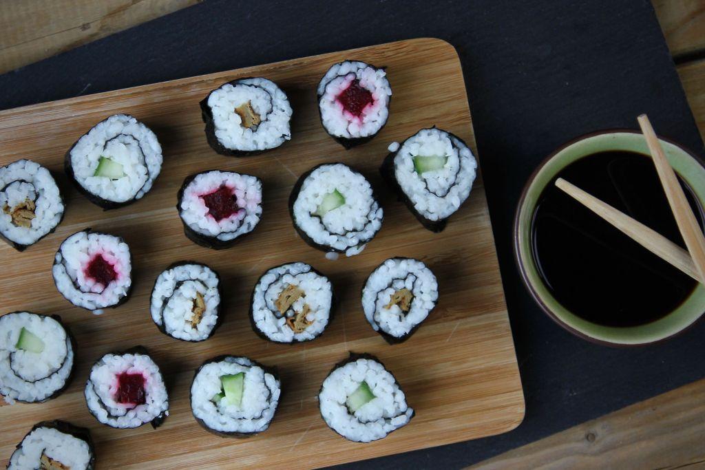 Vegetarische sushi maki recept jan 2020 2