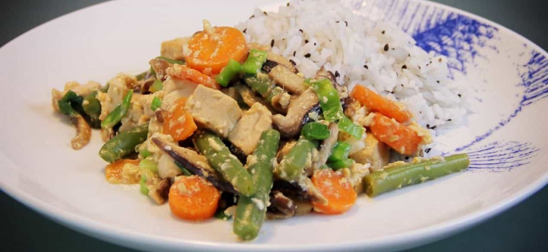 Teriyaki roerbakschotel recept
