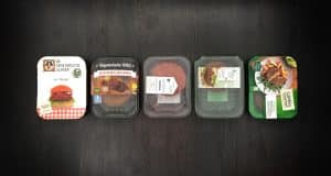 vegetarische hamburger test