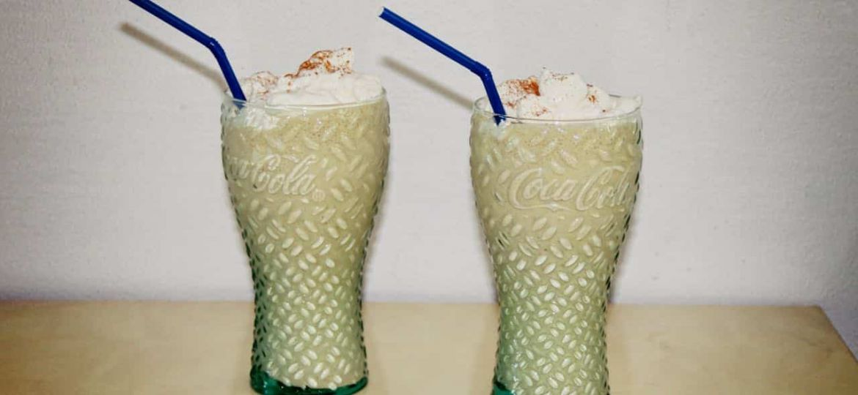 Apple pie milkshake recept
