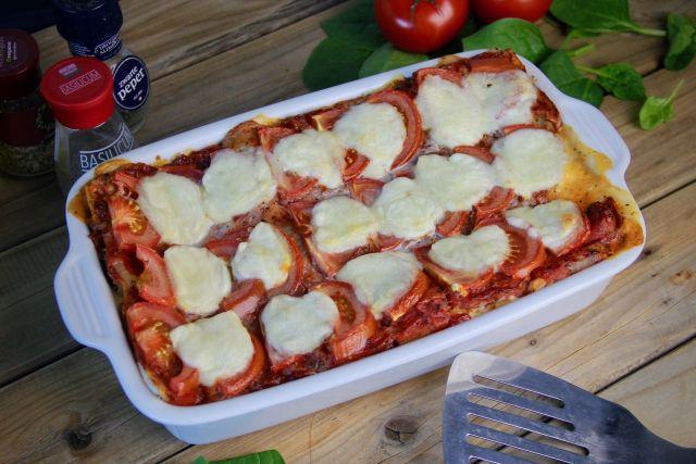 Budget lasagne met spinazie en mozzarella recept 1