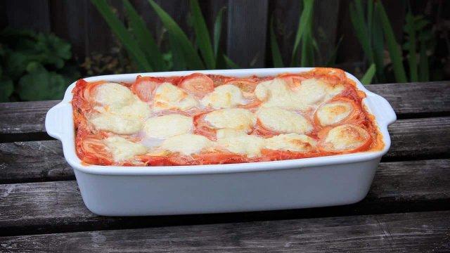 Budget lasagne met spinazie recept