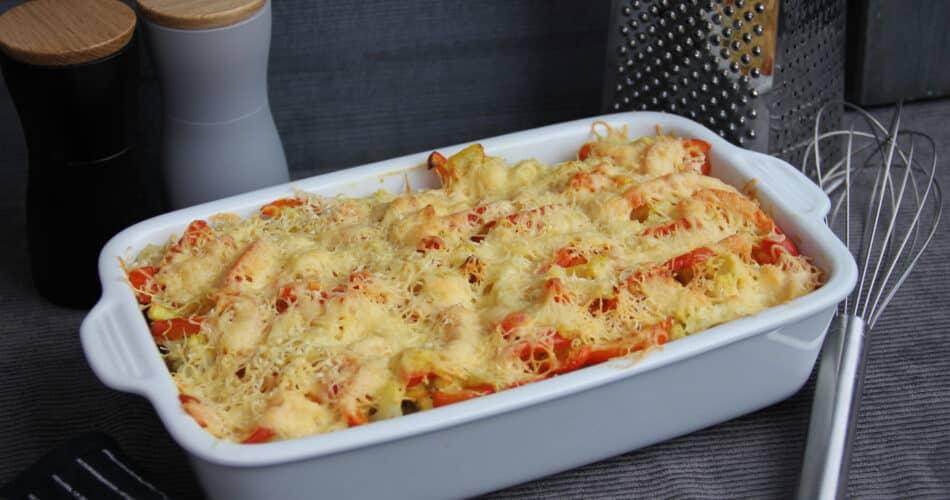 Budget bloemkool ovenschotel met paprika en aardappel apr 2021 1
