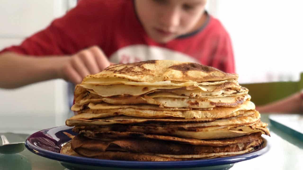Pannenkoeken en flensjes recept zonder pannenkoekenmix