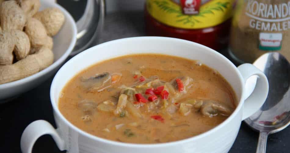 Pindasoep met nasi groenten recept apr 2021 1