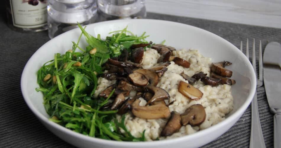 Trufferisotto met paddenstoelen recept 1