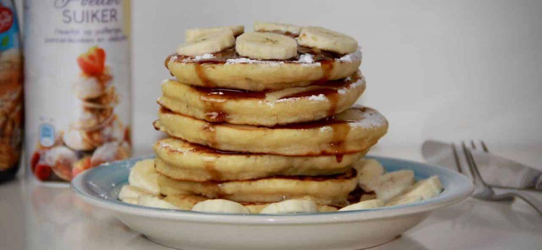Amerikaanse pannenkoeken met banaan recept