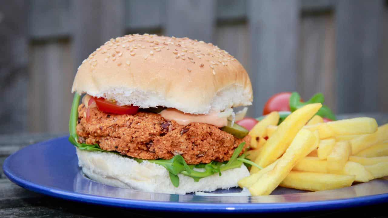 Hazelnoot bonen hamburgers recept