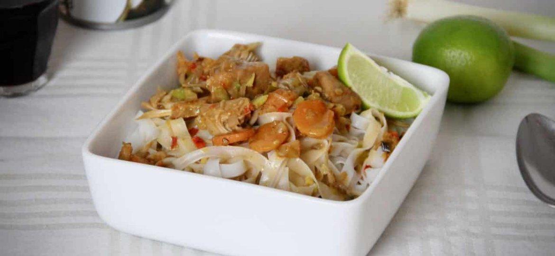 Upton's Upton's Jackfruit met Thaise curry en noedels recept