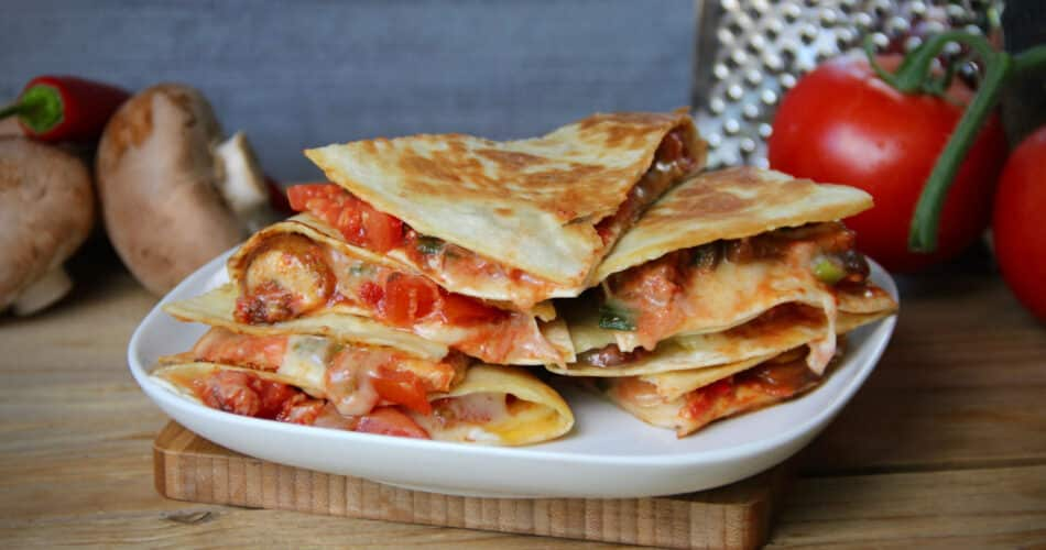 Quesadilla met champignon en tomaat recept jun 2021 1