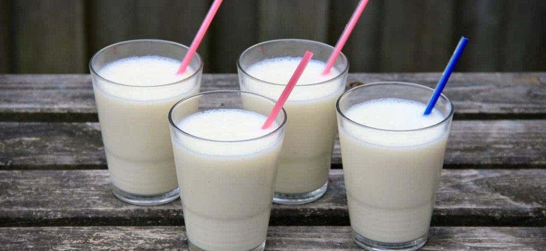 Banaan vanille milkshake recept