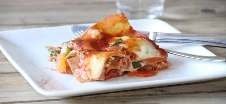 Hollandse groente lasagne recept