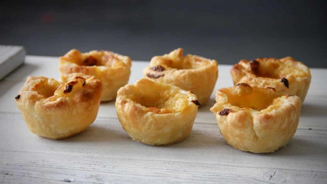 Pasteis de nata recept 6 stuks