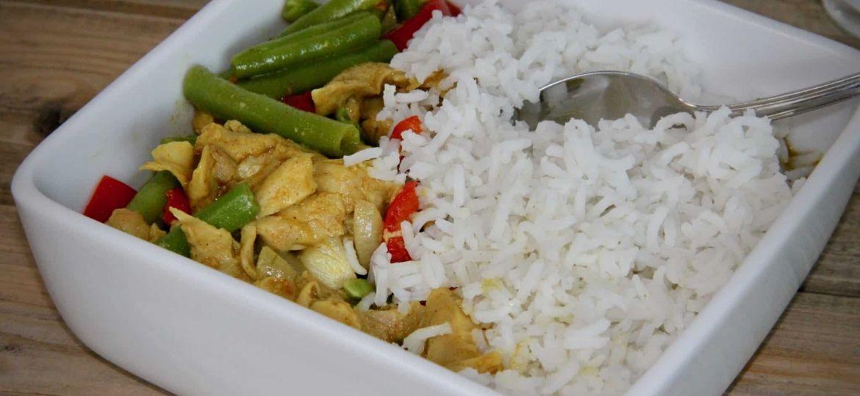 Vivera plantaardige kipstukcjes test met Thaise groenencurry