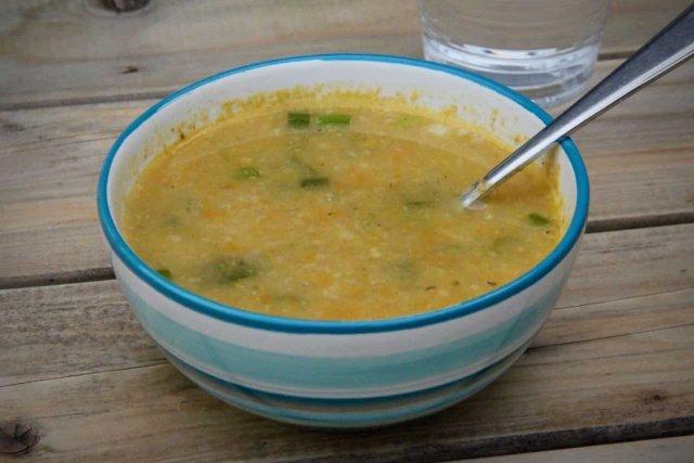 Griesmeelsoep met groenten recept
