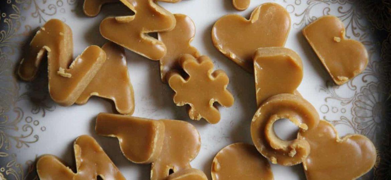 Caramel borstplaat recept 1