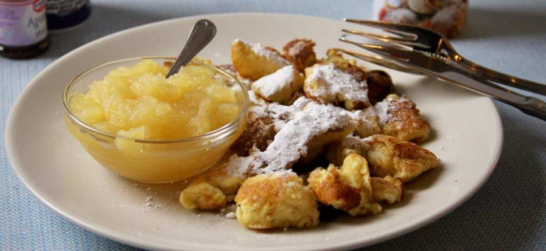 Kaiserschmarrn recept voor Oostenrijkse pannenkoeken