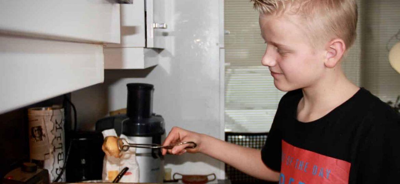 Berenjenas con miel recept bakken