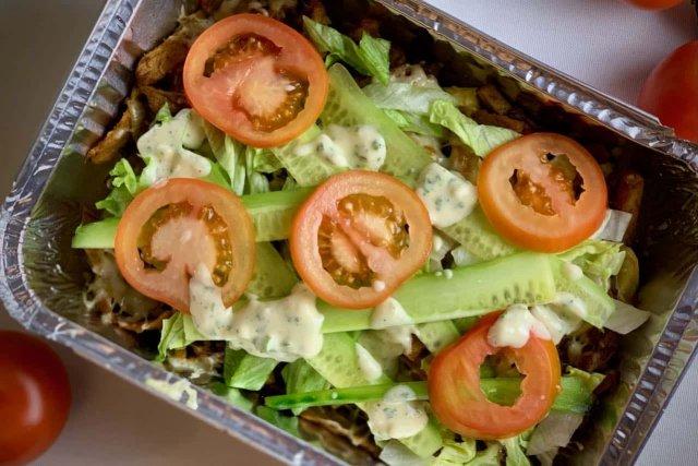 Kapsalon met vegetarische shoarma recept 1