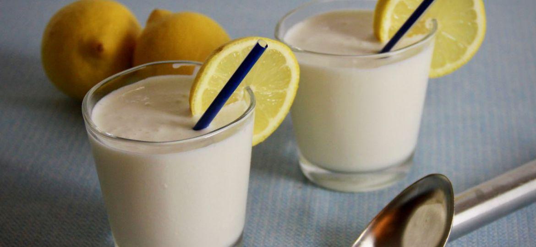 Citroen milkshake recept 1