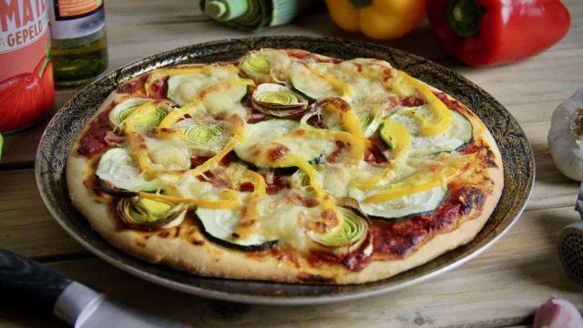 Groentepizza recept voor