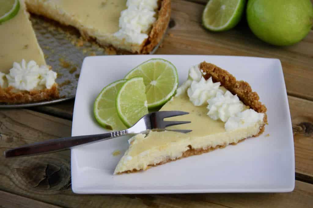 Limoentaart recept stukje taart