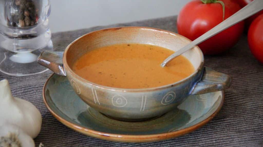 vegetarische soeprecepten - Tomatensoep 1