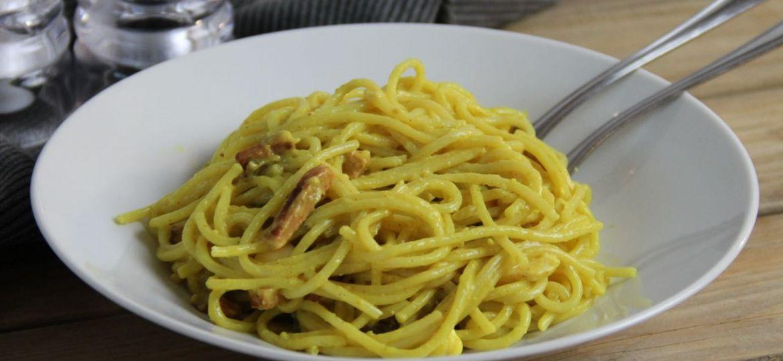 Spaghetti met kerriesaus recept okt 2019 1