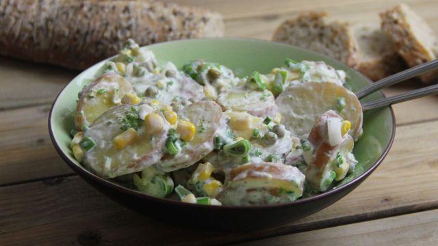 Aardappelsalade met kruidendressing recept 1