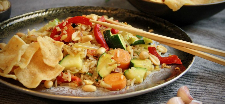 Nasi Goreng met groenten recept 1