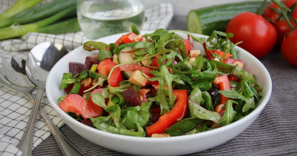 Salade met rode biet mrt 2021 1