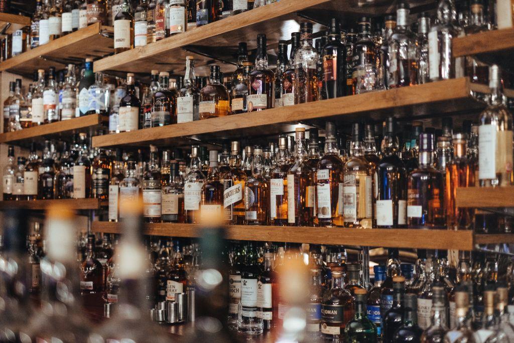Soorten whisky of Whiskey flessen