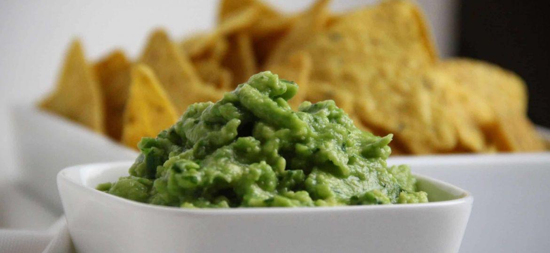 Nacho's met guacamole recept 1
