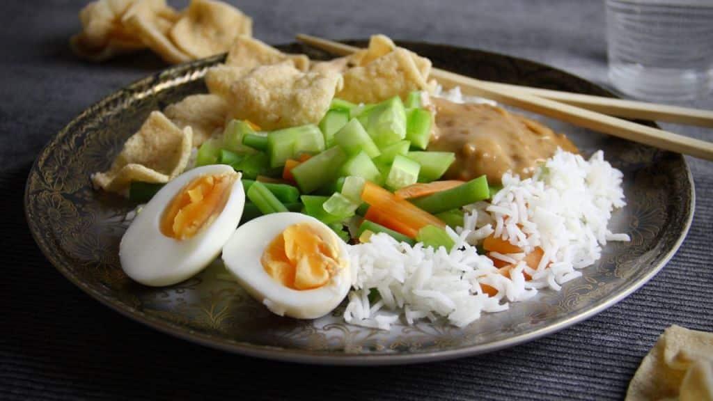 Makkelijk vegetarisch recept - Gado gado