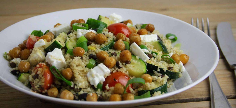 Bulgur met groenten en bonen recept 1