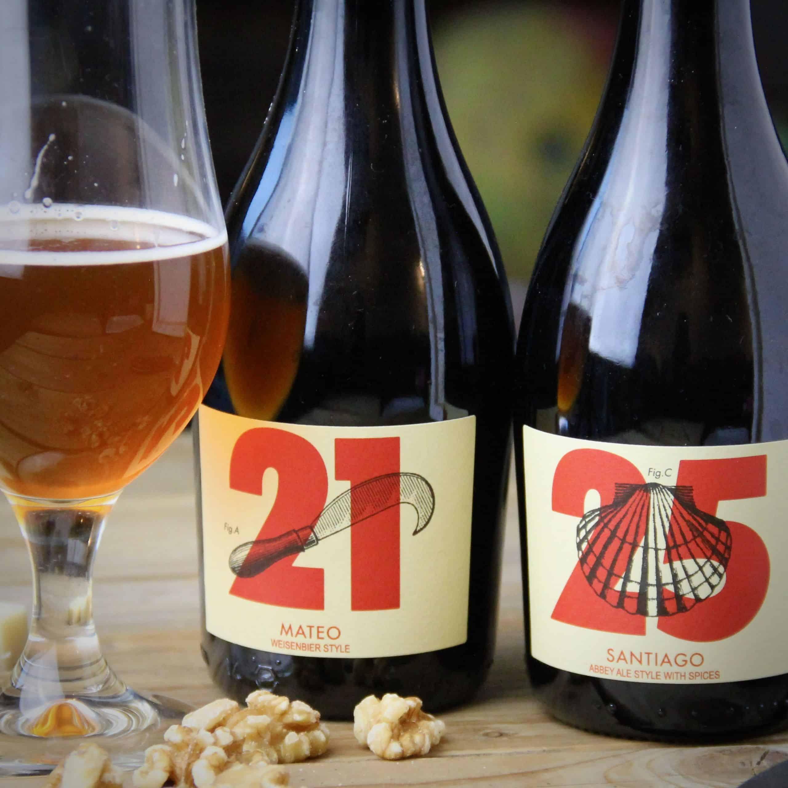 Mateo 21 en Santiago 25 bier