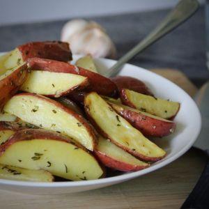 Aardappelen met rozemarijn uit de oven recept vierkant