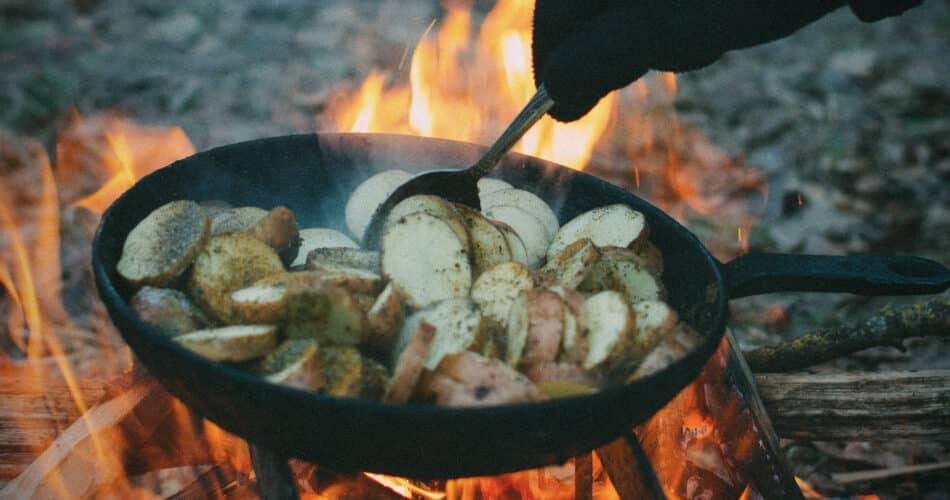Lekkere vega barbecue tips pan 1